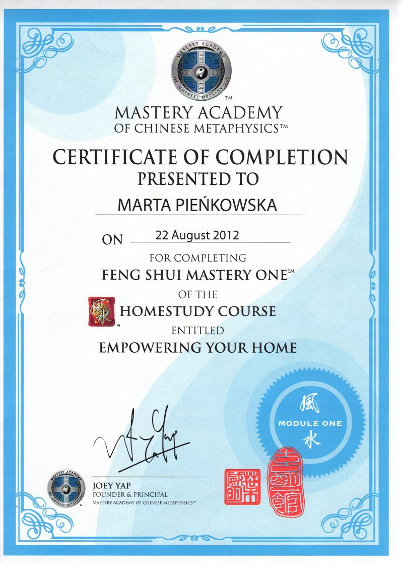 Feng Shui Mastery One - Empowering Your Home