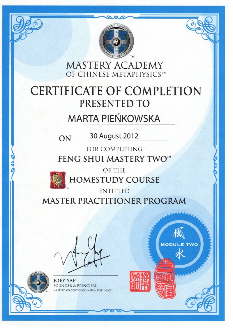 Feng Shui Mastery Two - Master Practitioner