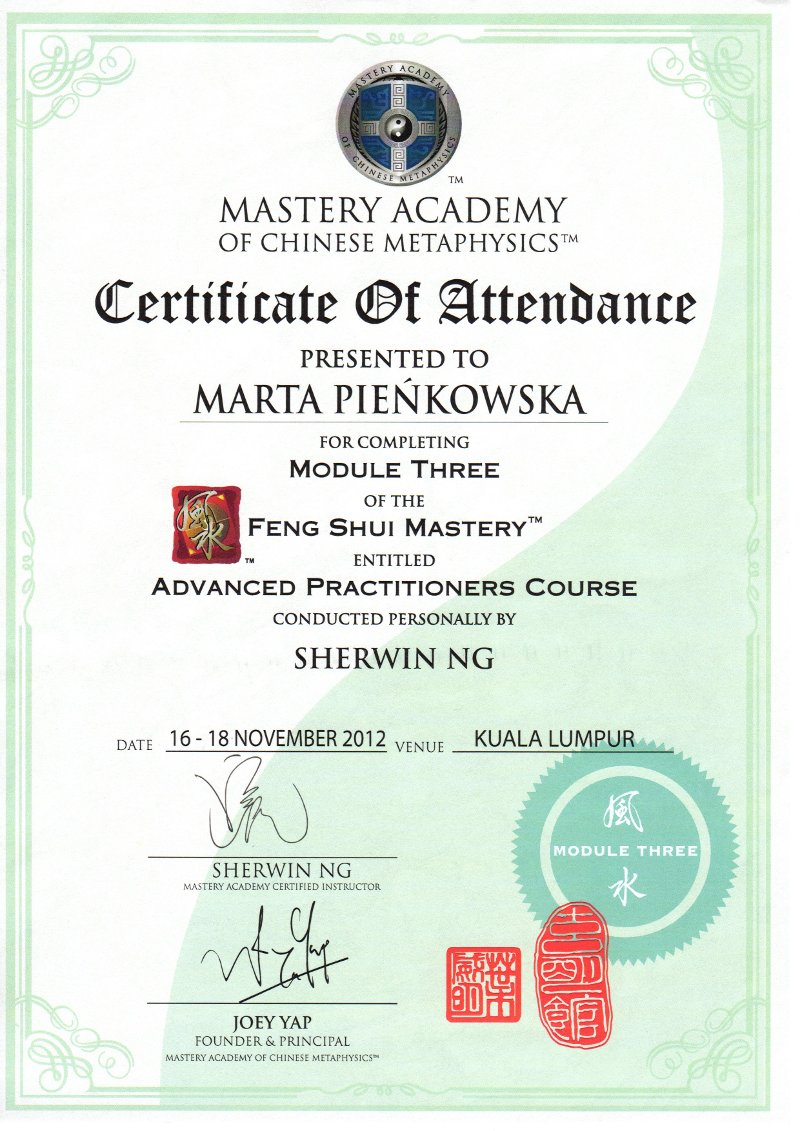 Feng Shui Mastery Three - Advanced Practitioners