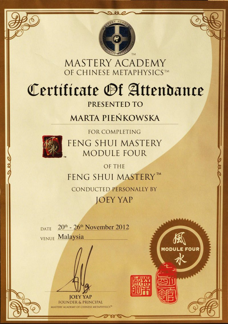 Feng Shui Mastery Four