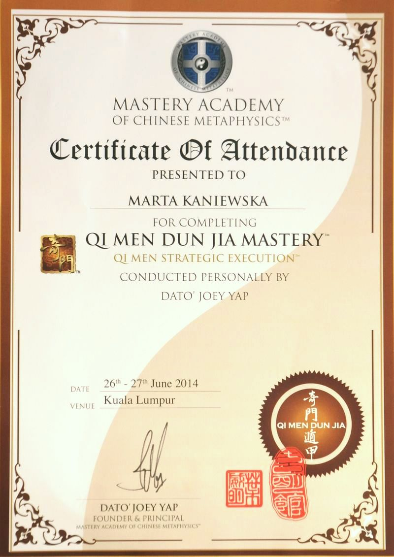 Qi Men Dun Jia Mastery - Qi Men Strategic Execution